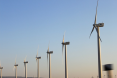 windmills aligned